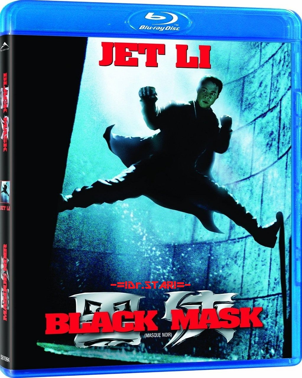 Black Mask 1996 720p 950MB BRRip Dual Audio