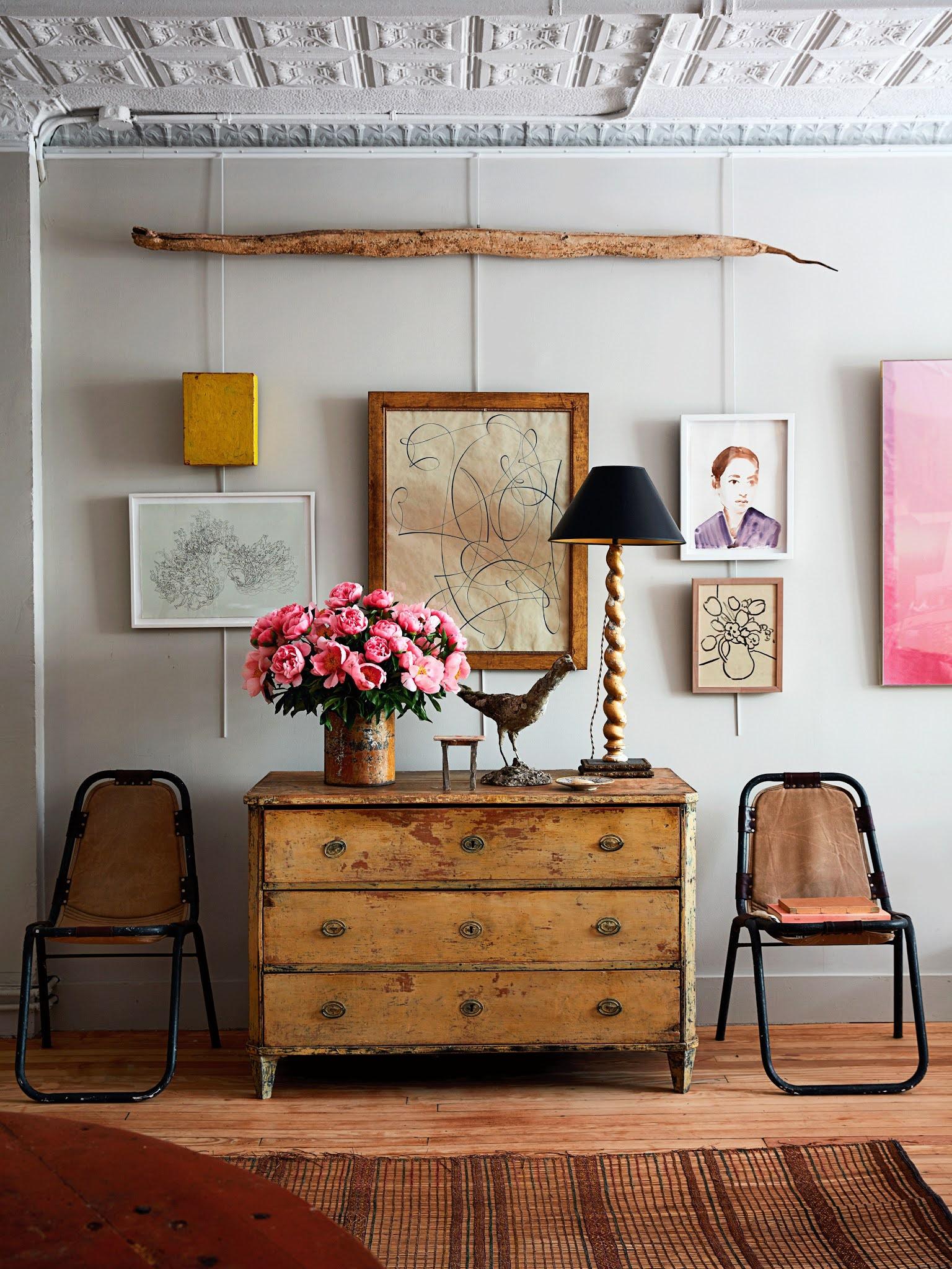 fran acciardo arch digest john derrian living room home tour interior design