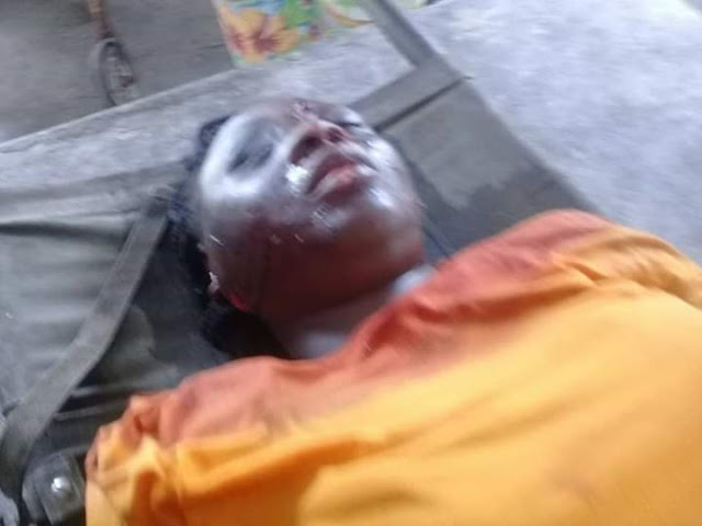 Graphic: Father Of INEC Staff Killed During The Elections In Rivers Mourns Her
