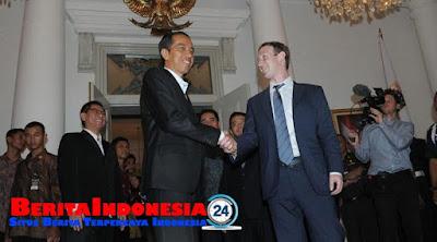 "Bahas ""Hoax"" di Facebook, Zuckerberg Datangi Indonesia"