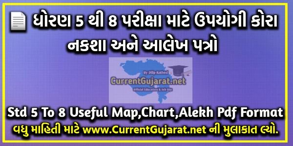 Std 5 To 8 Useful Map,Chart,Alekh Pdf Format