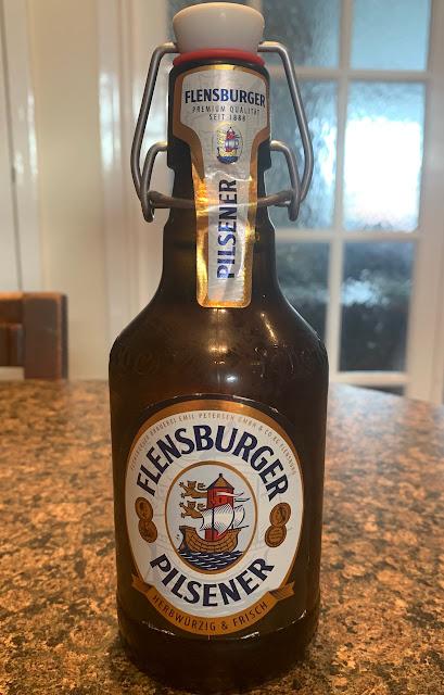 Flensburger Pilsner Beer