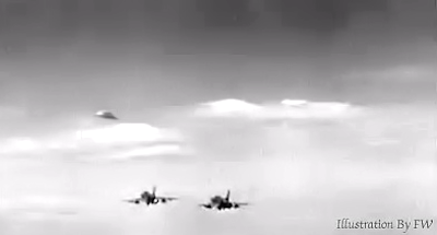 Fighter Jets Pursue UFO