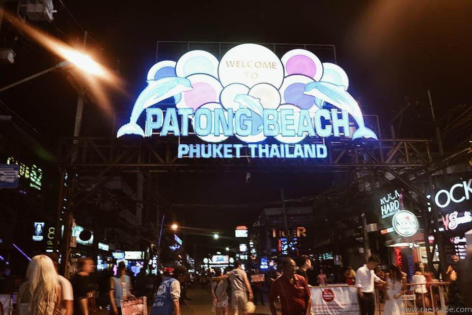 Overcrowded in Phuket, Thailand