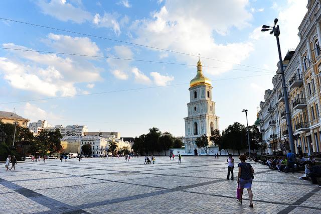 Kijev - kaj početi. cerkev sv. Sofije