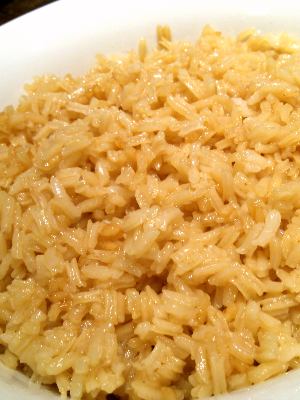 Greasy Rice | A classic Southern rice recipe made from chicken or pork stock and pan drippings.