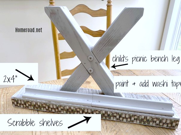 Do it Yourself Teacher's Easel from Scraps