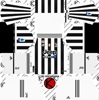 Juventus Adidas Kits 2021/22 - DLS2019 Kits