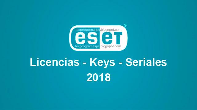 Licencias Keys Claves para ESET 2018 Gratis Cartel