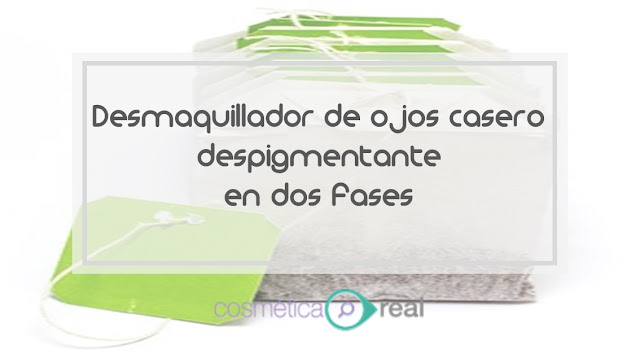 Receta casera: Limpiador despigmentante para ojos en dos fases