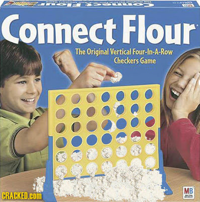 Connect Flour - The original four-in-a-row checkers game