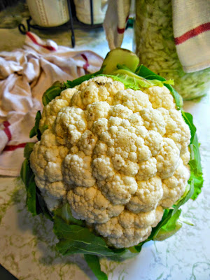 Roasted Cauliflower with Lemon and Garlic, eat more vegetables!