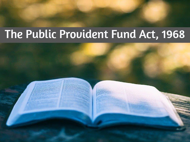 public-provident-fund-act-1968