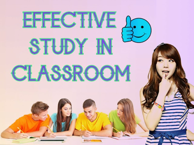 management of study in classroom