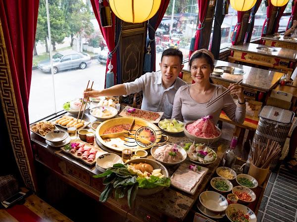 Famous Cheng Du Hotpot - Xiao Long Kan 小龙坎老火锅 is now open in Sunrise Tower Penang!