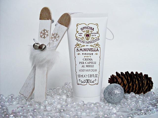 МЕДОВАЯ КРЕМ-МАСКА ДЛЯ ВОЛОС от  Santa Maria Novella, Santa Maria Novella, уход за волосами, подарок на новый год, идеи подарков, подарок для девушки, маска для волос, восстановление волос.