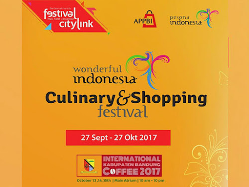 Pameran kuliner festival citylink Bandung