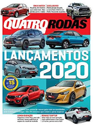 Livro online Revista Quatro Rodas - Lançamento 2020 eBook