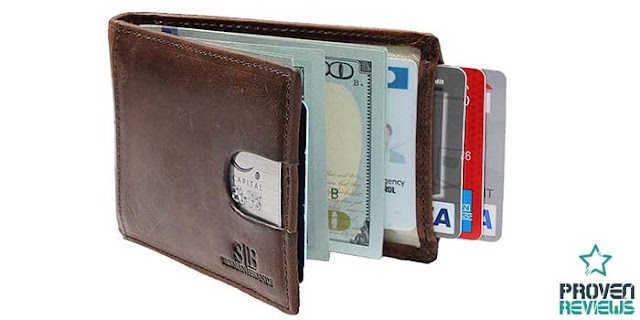 Bifold Wallet With Money Clip Inside