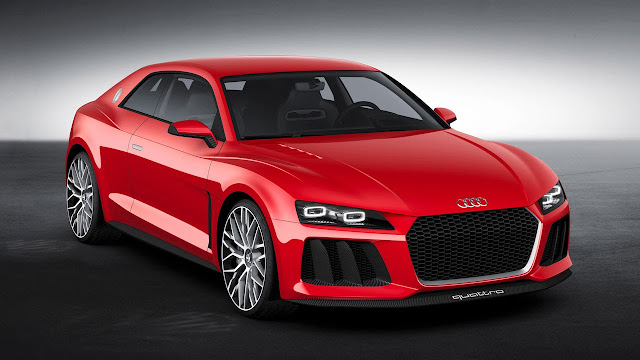 The Audi Sport quattro laserlight concept car