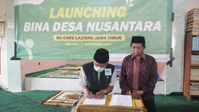Program Bina Desa Nusantara LAZISNU Jatim, Sejahterakan Daerah Tertinggal