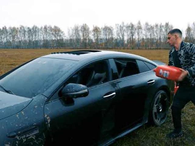 YouTuber Bakar Mobil Mahal Rp 5 M, Sering Rusak Katanya