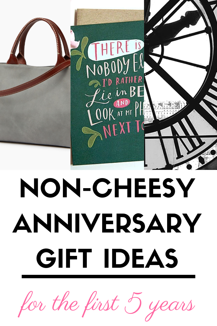 A Splendid Messy Life Non Cheesy Anniversary Gift Ideas For The First Five Years