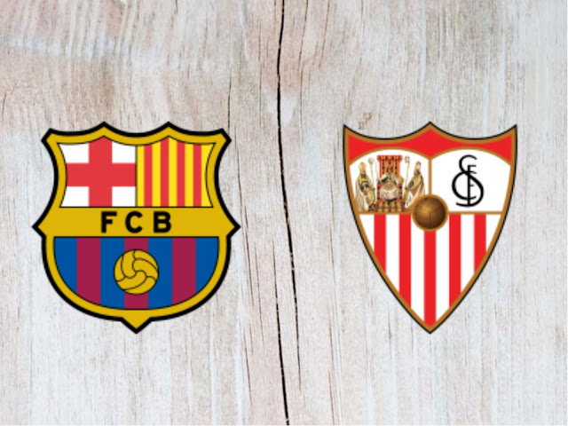 Watch Barcelona vs Sevilla Full Match & Highlights - 12 August 2018