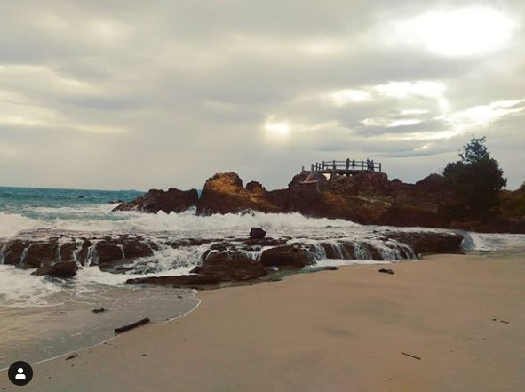 Pantai Mistis Marina, lampung