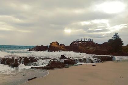 Pantai Marina Lampung Selatan Kental dengan Aura Mistis
