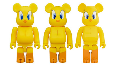 Looney Tunes Tweety Bird Be@rbrick Vinyl Figures by Medicom Toy