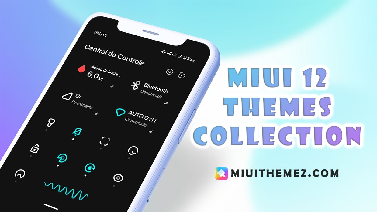 Best MIUI 12 Themes Collection for MIUI 12 Devices