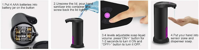 HOMCA Automatic Soap Dispenser review
