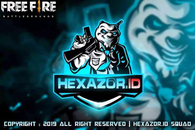 hexazor id squad free fire, hexazor id ff, logo hexazor Id squad free fire, logo hexazor id ff, hexazor Id free fire