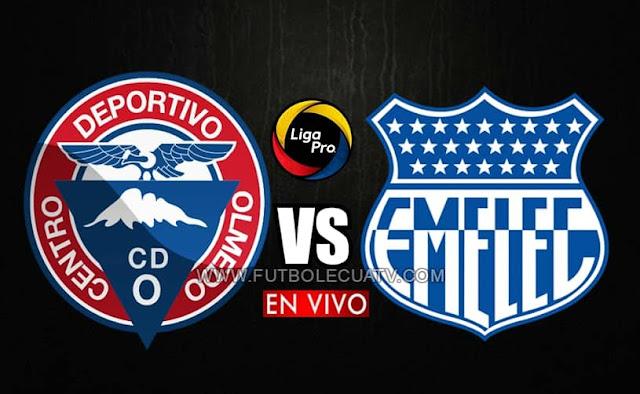 Olmedo recibe a Emelec en vivo a partir de las 18h30 horario local, prosiguiendo la jornada doce del campeonato ecuatoriano, siendo transmitido por GolTV Ecuador a efectuarse en el campo Fernando Guerrero. Con arbitraje principal de Álex Cajas.