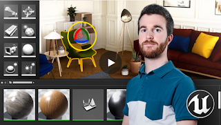 Aprende Unreal Engine 4 para visualización arquitectónica