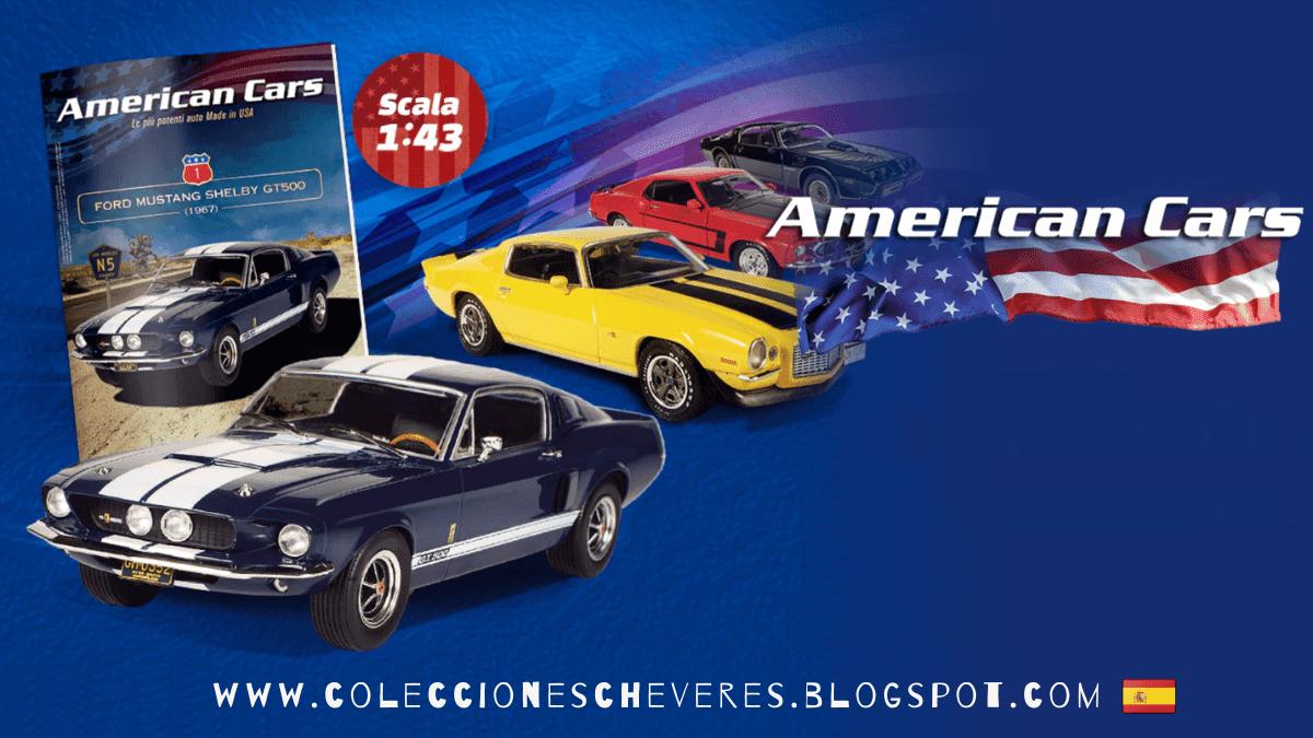 coleccion american cars 1:43 españa salvat