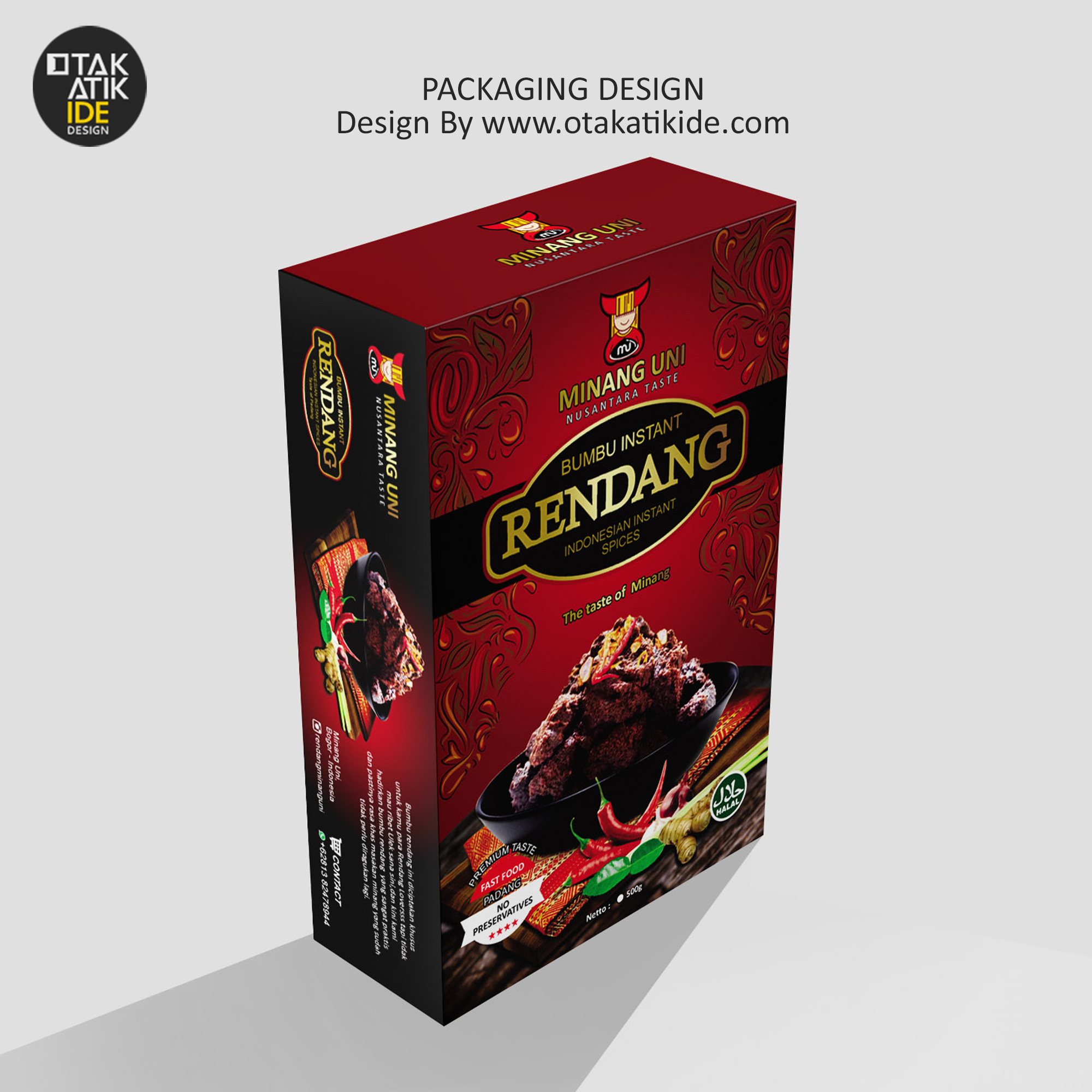 Packaging Makanan: Desain Packaging Produk Makanan - Otakatikide
