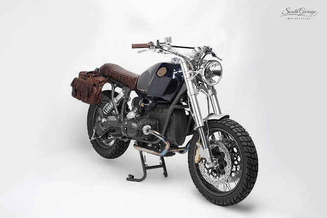 BMW R80R By South Garage Motorcycles Hell Kustom