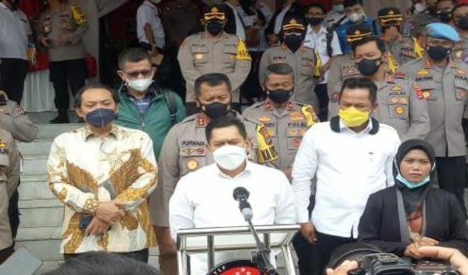 Polda Lampung Dapat Apresiasi dari Komisi III DPR dalam Capaian Penegakan Hukum