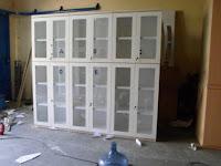 Lemari Arsip Kantor Bahan Kayu Multiplek