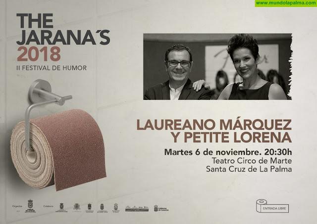 Petite Lorena y Laureano Márquez repasan en clave de humor la relación entre Canarias y Venezuela en la tercera cita de 'The Jarana's'