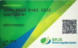 Contoh Kartu Digital BPJS Ketenagakerjaan