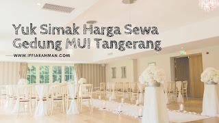 paket wedding tangerang 2020