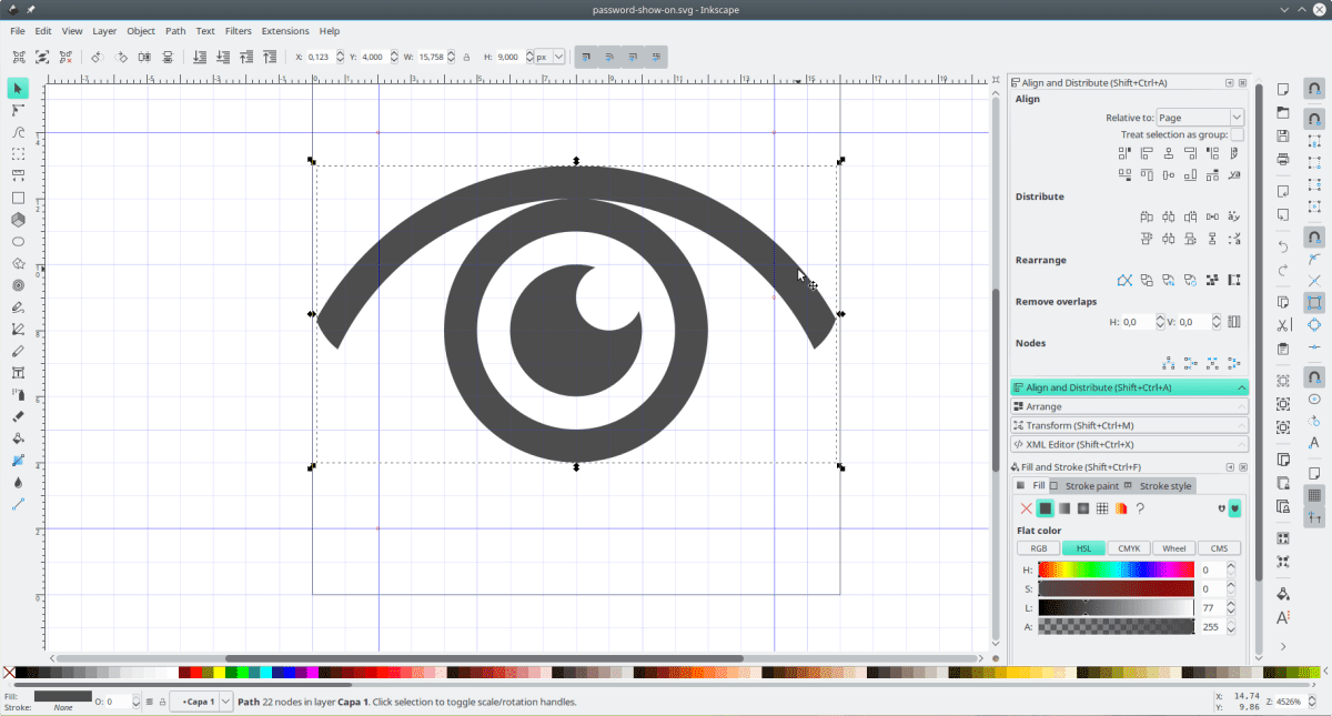 Software Aplikasi Alternatif CorelDRAW - Inkscape