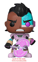 Pop! TV: Teen Titans Go! The Night Begins to Shine - Cyborg GITD Toys 'R Us