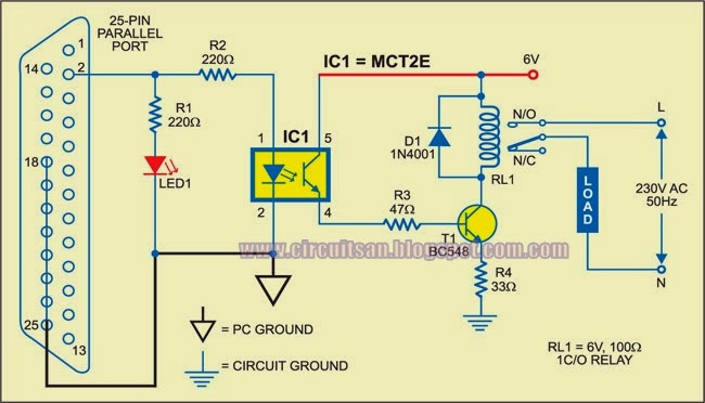 build a pc based timer circuit diagram all about wiring diagram Pj Wiring Diagram pc based timer circuit diagram