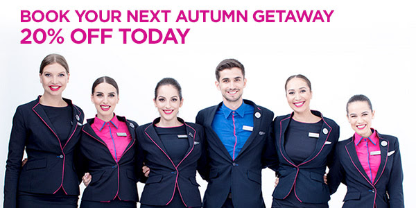 Wizz Air 20% off