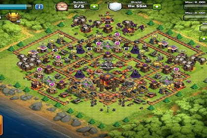 Tips and Trik Upgrade Base COC Paling Efisien dan Efektif