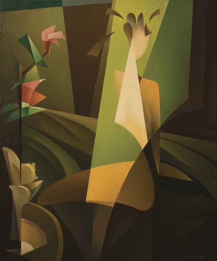 Немецкий художник. Isaac Feldman
